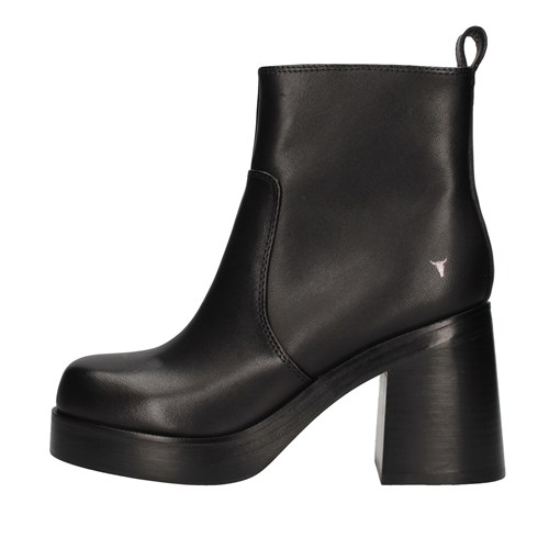 Windsor Smith Shoes Woman boots BLACK WSSNASSTY