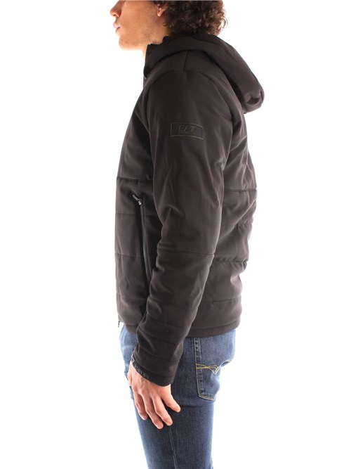 Ea7 Clothing Man Outerwear BLACK 6HPB26