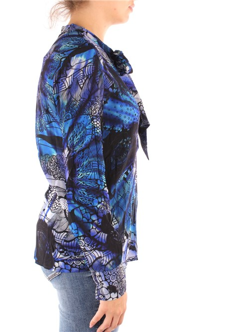 Desigual Clothing Woman Blouses BLUE 20WWBW02