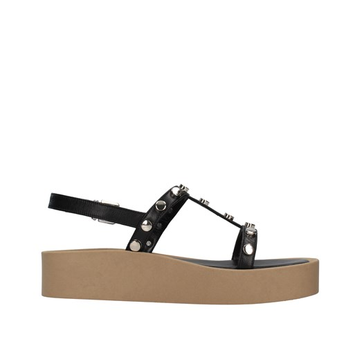 Tres Jolie Shoes Woman With wedge BLACK 2080/ALOE