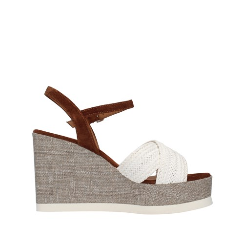 Tres Jolie Shoes Woman With wedge WHITE 2073/VALE/MS