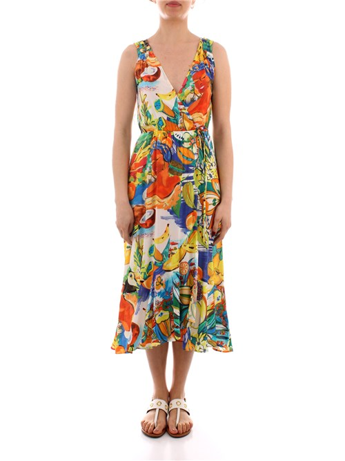 Desigual Clothing Woman Calf GREEN 21SWMW05