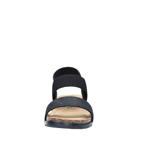 Bionatura Shoes Woman With wedge BLACK 34A848