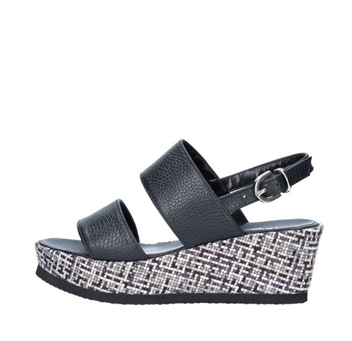 Tres Jolie Shoes Woman With wedge BLACK 2671